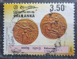 Poštovní známka Srí Lanka 2001 Staré mince Mi# 1295