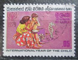 Poštovní známka Srí Lanka 1979 Mezinárodní rok dìtí Mi# 501