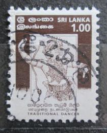 Poštovní známka Srí Lanka 1999 Taneèník Mi# 1192