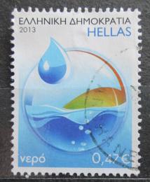 Poštovní známka Øecko 2013 Ètyøi elementy - voda Mi# 2732