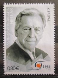 Poštovní známka Øecko 2016 Costa-Gavras, režisér Mi# 2915