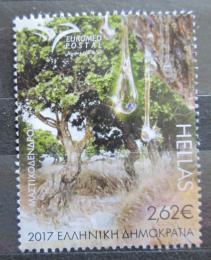 Poštovní známka Øecko 2017 Pistacia lentiscus Mi# 2955 Kat 6€