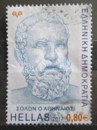 Poštovní známka Øecko 2017 Solón Mi# 2960