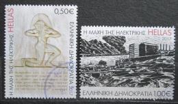 Poštovní známky Øecko 2017 Elektrárna Keratsini Mi# 2966-67 Kat 3.50€