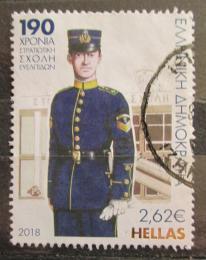 Poštovní známka Øecko 2018 Vojenská uniforma Mi# 3010 Kat 6€