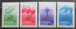 Poštovní známky Norfolk 1995 OSN, 50. výroèí Mi# 600-03