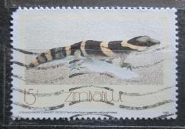 Poštovní známka Zimbabwe 1989 Pachydactylus capensis Mi# 396