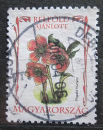 Poštovní známka Maïarsko 2011 Èemeøice nachová Mi# 5517