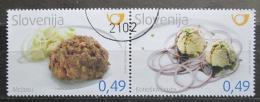 Poštovní známky Slovinsko 2010 Místní kuchynì Mi# 874-75