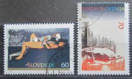 Poštovní známky Slovinsko 1995 Evropa CEPT Mi# 110-11