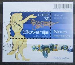 Poštovní známka Slovinsko 2010 Archeologické nálezy Mi# Block 52