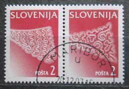 Poštovní známky Slovinsko 1996 Krajky Mi# 155-56