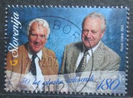 Poštovní známka Slovinsko 2003 Muzikanti Mi# 429