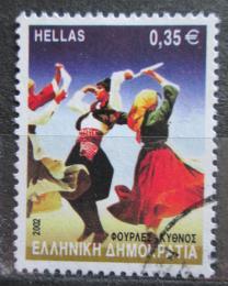 Poštovní známka Øecko 2002 Lidový tanec Mi# 2090 A