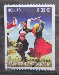 Poštovní známka Øecko 2002 Lidový tanec Mi# 2090 C