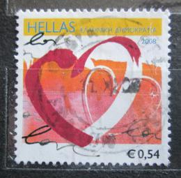 Poštovní známka Øecko 2008 Srdce Mi# 2462