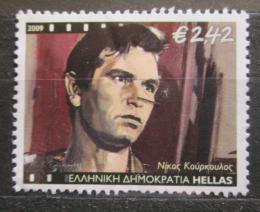 Poštovní známka Øecko 2009 Nikos Kourkoulos, herec Mi# 2499 Kat 4.80€