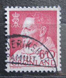 Poštovní známka Grónsko 1968 Král Frederik IX. Mi# 69