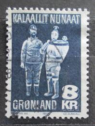 Poštovní známka Grónsko 1980 Døevìné sochy, Johannes Kreutzmann Mi# 119