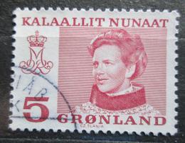 Poštovní známka Grónsko 1978 Královna Margrethe II. Mi# 106