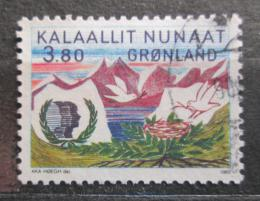 Poštovní známka Grónsko 1985 Rok mládeže Mi# 160