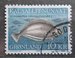 Poštovní známka Grónsko 1985 Platýs Mi# 162