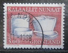 Poštovní známka Grónsko 1988 Staré pøedmìty denní potøeby Mi# 186