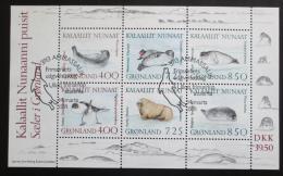 Poštovní známky Grónsko 1991 Tuleni Mi# Block 3 Kat 17€