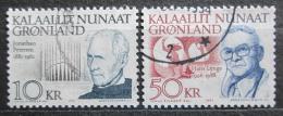 Poštovní známky Grónsko 1991 Umìlci Mi# 221-22 Kat 18€
