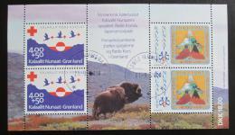 Poštovní známky Grónsko 1993 Výroèí Mi# Block 4 Kat 16€