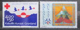 Poštovní známky Grónsko 1993 Výroèí Mi# 236-37 Kat 5€