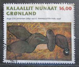 Poštovní známka Grónsko 1997 Umìní, Aage Gitz-Johansen Mi# 311 Kat 4.50€