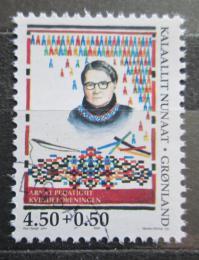 Poštovní známka Grónsko 1998 Kathrine Chemnitz Mi# 322