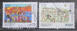 Poštovní známky Grónsko 1998 Evropa CEPT Mi# 323-24
