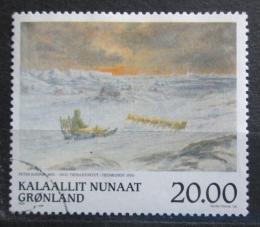 Poštovní známka Grónsko 1999 Umìní, Peter Rosing Mi# 337 Kat 6.50€