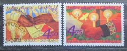 Poštovní známky Grónsko 1999 Vánoce Mi# 344-45