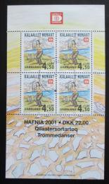 Poštovní známky Grónsko 2000 Výstava HAFNIA Mi# Block 19