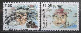 Poštovní známky Grónsko 2006 Severské mýty Mi# 462-63 Kat 6.50€