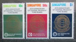 Poštovní známky Singapur 1980 Pojištìní Mi# 359-61