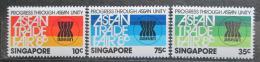 Poštovní známky Singapur 1980 Veletrh ASEAN Mi# 366-68