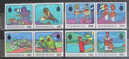 Poštovní známky Dominika 1969 Turistika Mi# 245-52