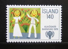 Poštovní známka Island 1979 Mezinárodní den dìtí Mi# 543