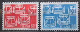 Poštovní známky Island 1969 NORDEN, severská spolupráce Mi# 426-27