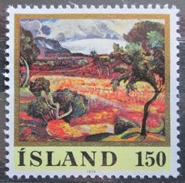 Poštovní známka Island 1976 Umìní, Asgrimur Jonsson Mi# 513