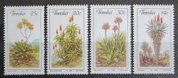 Poštovní známky Transkei, JAR 1986 Aloe Mi# 185-88