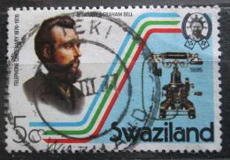 Poštovní známka Svazijsko 1976 Telefon z roku 1895 Mi# 262