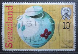 Poštovní známka Svazijsko 1978 Proutìná nádoba Mi# 297