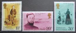 Poštovní známky Tristan da Cunha 1981 Edwin Dodgson Mi# 297-99
