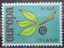Poštovní známka Island 1965 Evropa CEPT Mi# 396