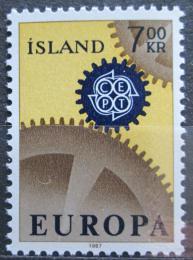 Poštovní známka Island 1967 Evropa CEPT Mi# 409